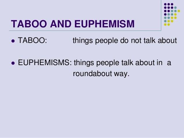 english euphemisms