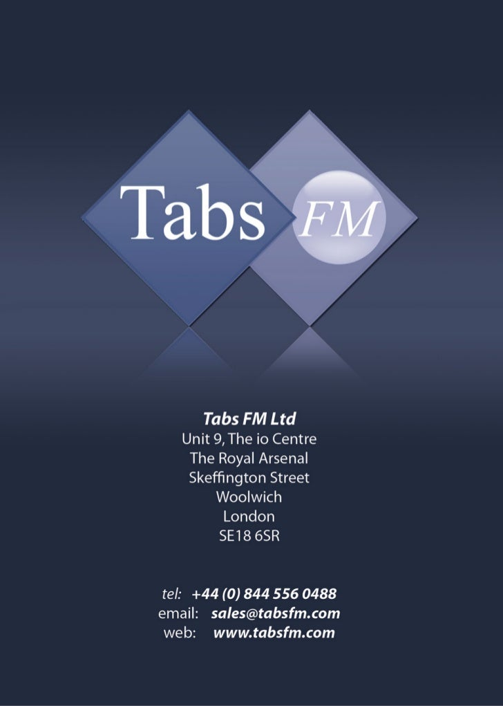 Tabs FM Brochure