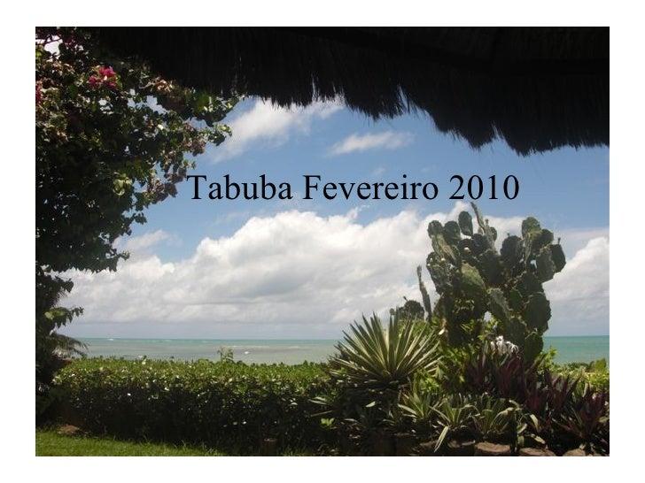 Tabuba Fevereiro 2010