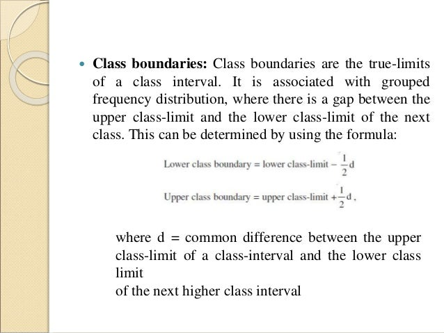 Why are unequal class intervals sometimes used in a frequency distribution?