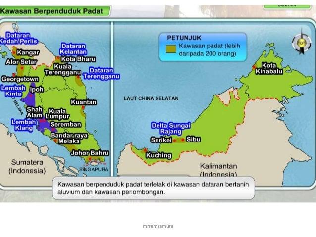 Geografi Tingkatan 2 Taburan Penduduk