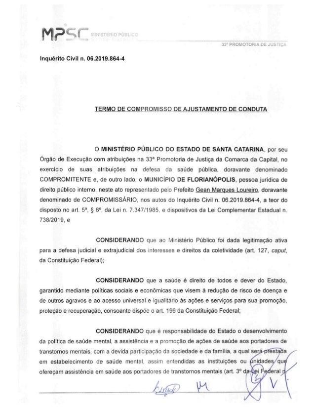 TAC - Realização de uma reforma estrutural na sede do CAPS II Ponta do Coral