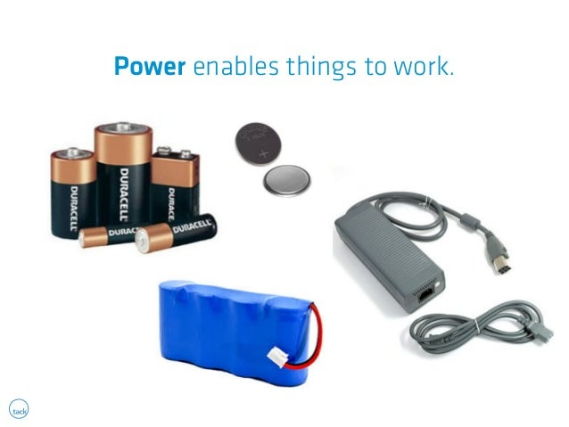 Power enables things to work.