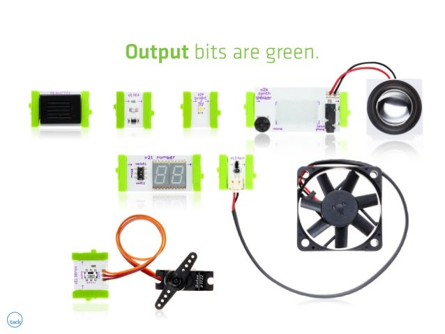Output bits are green.