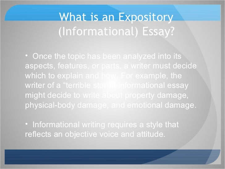 Essay Examples Of Speech Essay Example Of Informative Essay About
