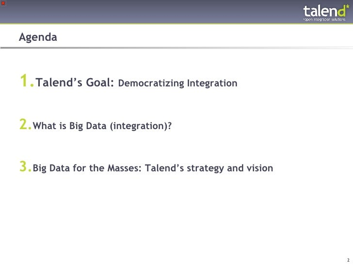 Tackling big data with hadoop and open source integration Slide 2