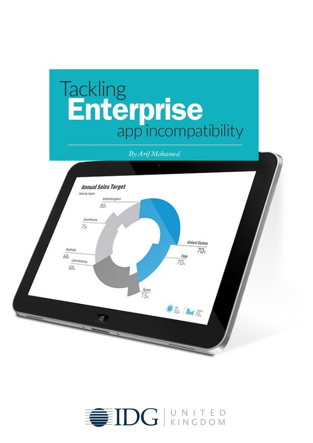 Tackling Enterprise app incompatibility By Arif Mohamed