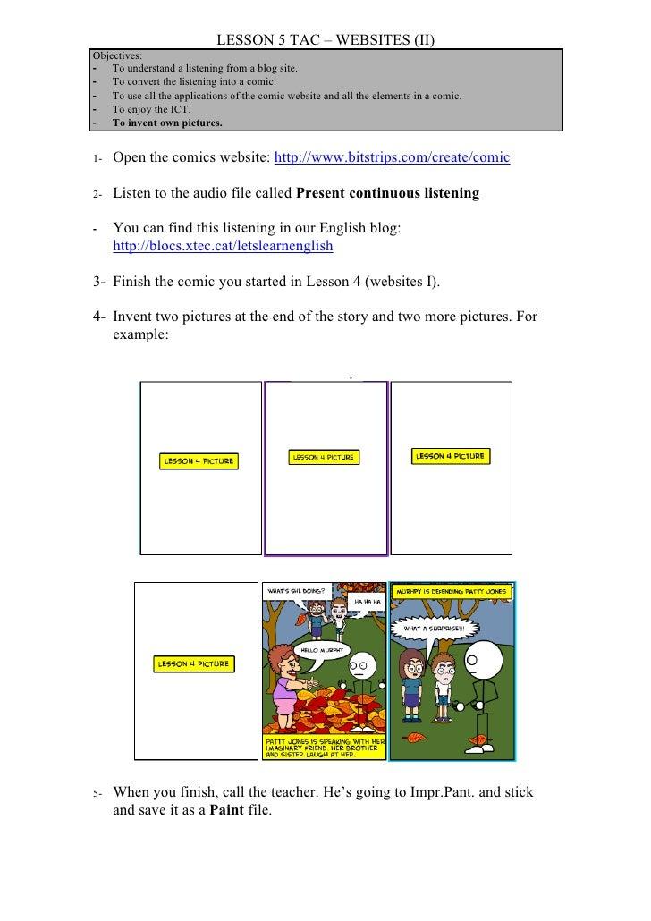 Tac lesson 5