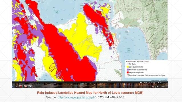 Tacloban Philippines Map.Tacloban Geohazard Assessment Report 11 28 13