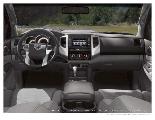 ... 14. 4x2 Double Cab Interior ...