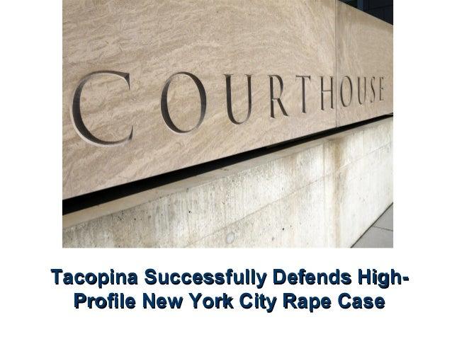 Tacopina Successfully Defends HighProfile New York City Rape Case