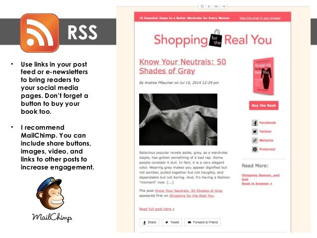 RSS • The Secret Book Club (thesecretbookclub.org), uses video and fun images for their youth and family audience.