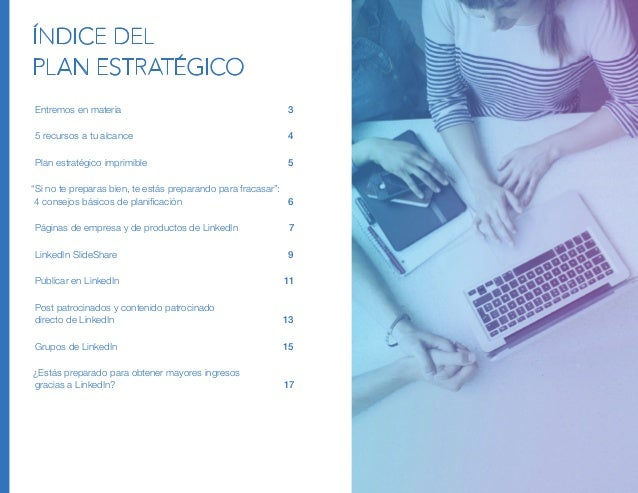 Plan Estratégico de Marketing de Contenidos en Linkedin Slide 2