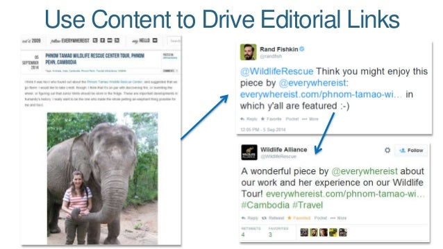 Use Content to Drive Editorial Links