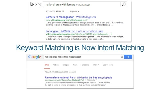 Keyword Matching is Now Intent Matching