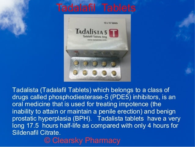 tadalista tadalafil tablets