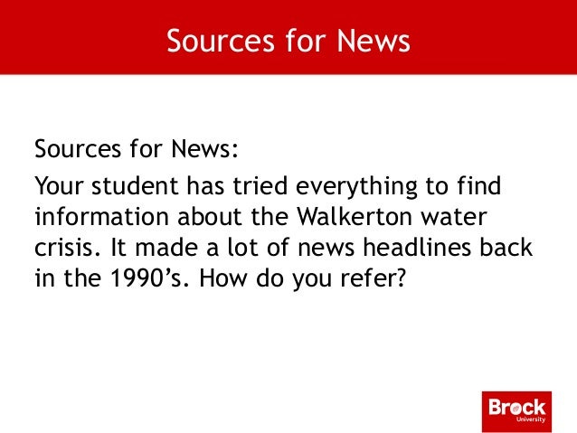 walkerton crisis essay Canada and safe water essay struck with a water crisis (toronto star 22 dec) apparently the walkerton utilities commission knew about the problem with the water several days before they told the public about it (in-depth.