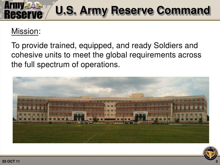 US Army Reserve - Tad Davis, SES