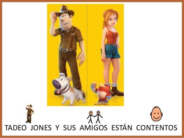 Cuento Adaptado Tadeo Jones