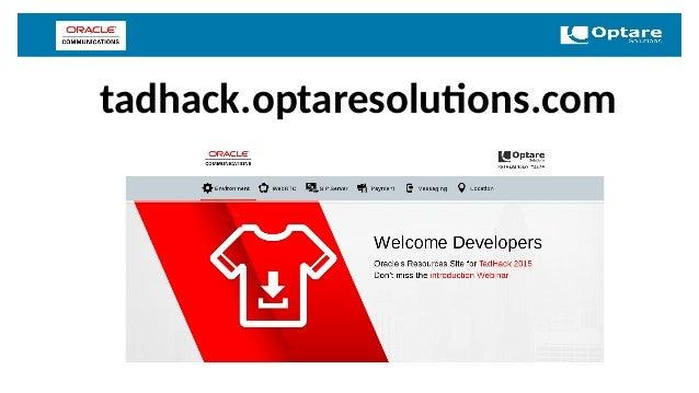 tadhack.optaresolutions.com