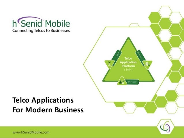 Telco Applications For Modern Business