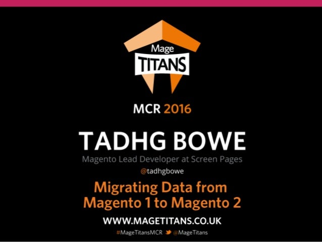 Tadhg Bowe | Screen Pages | November 2016 Mage Titans 2016 - Manchester