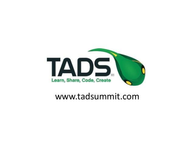 www.tadsummit.com