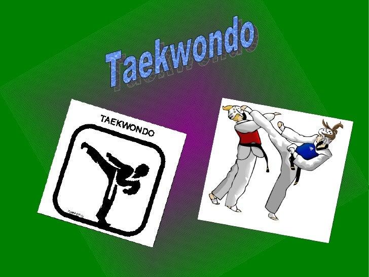 Taekwondo é uma arte marcial que foi criada pelo general sul-americano Choi Hong Hi, em 11 de abril de 1955.Nas Olimpíadas...