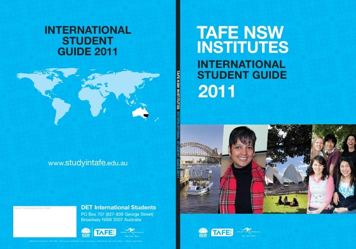 TAFE NSWINSTITUTESINTERNATIONALSTUDENT GUIDE2011