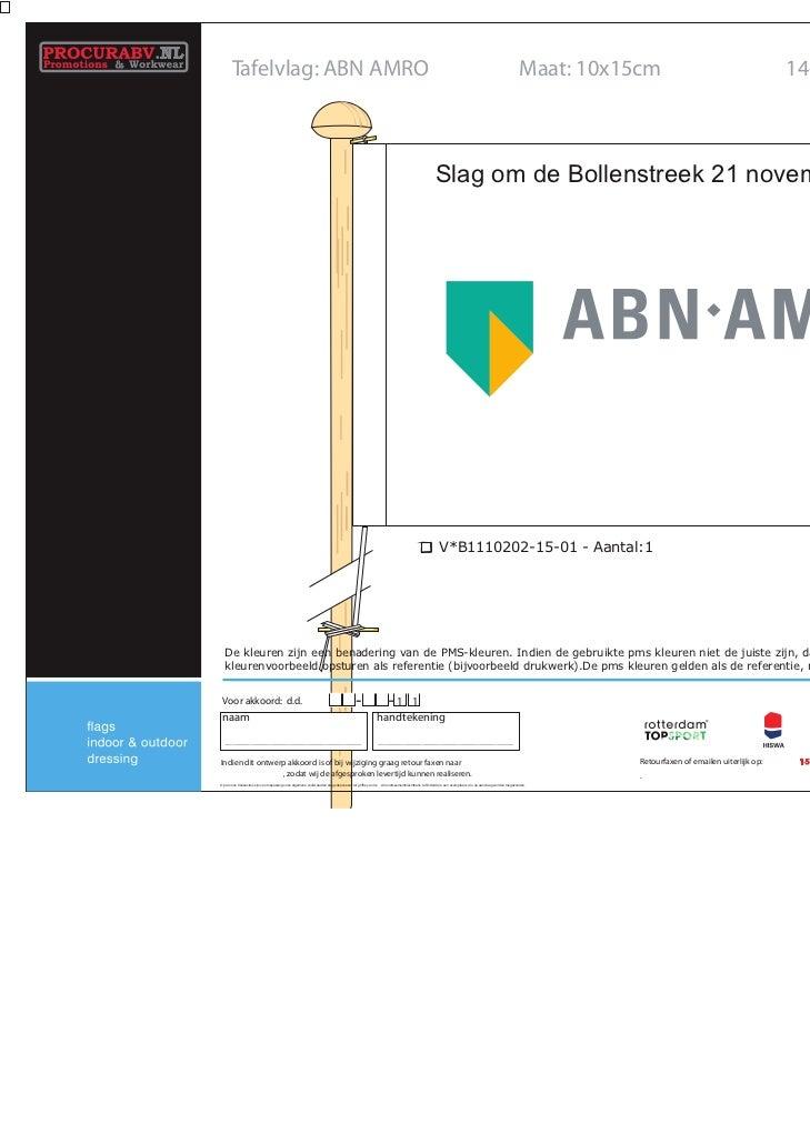 Tafelvlag: ABN AMRO                                                                                                       ...