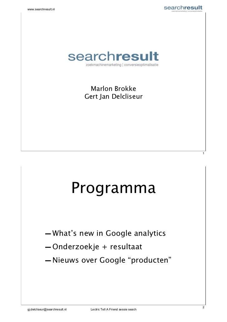 www.searchresult.nl                                  Marlon Brokke                                 Gert Jan Delcliseur    ...