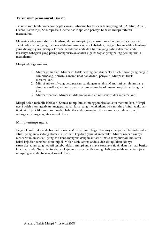 kitab tafsir mimpi ibnu sirin pdf download