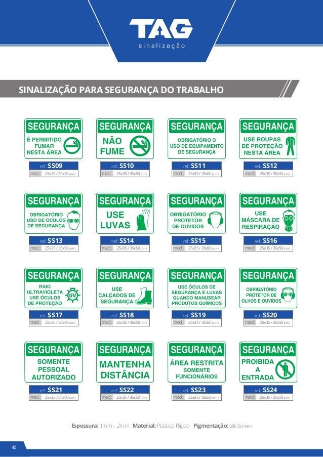 feef0950a0623 39. 42 SINALIZAÇÃO PARA SEGURANÇA ...