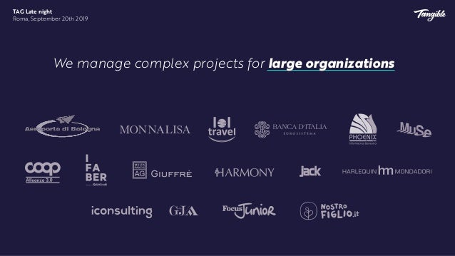 We also lead some of Italy's most promising startups to launch their products and raise important investment rounds. TAG L...