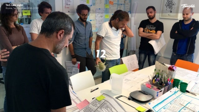 Labeling roles is not easy and is a consequence of our company culture TAG Late Night Roma, September 20th 2019