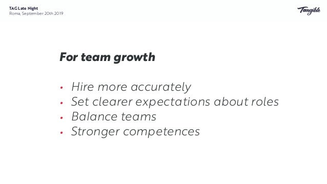 So far, so good ❤ • Feedback (internal and external) • Conversations • Team morale • Trust • Recruiting TAG Late Night Rom...