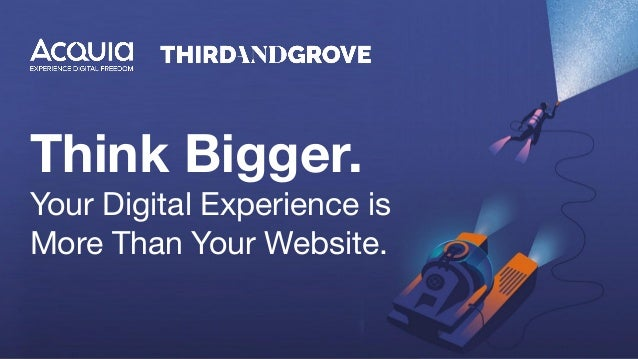 Think Bigger. Your Digital Experience is More Than Your Website.