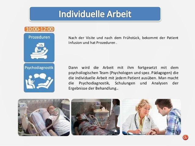 Tagesablauf des patienten v-klinik.de Slide 2