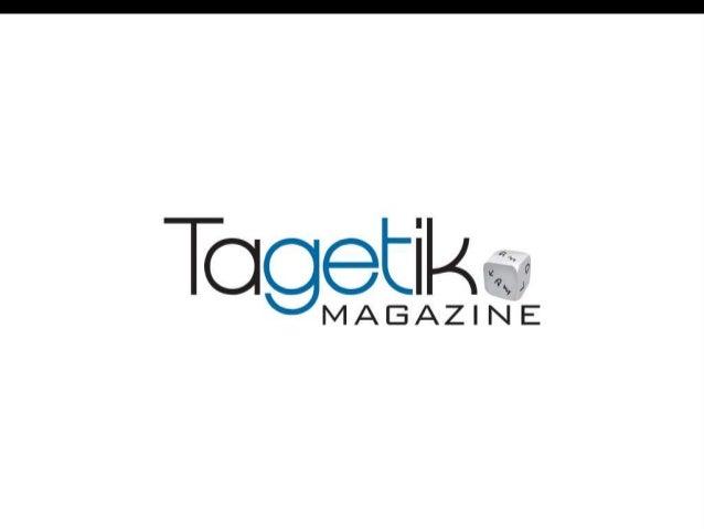 Read more on Tagetik Magazine http://goo.gl/Ex85Za