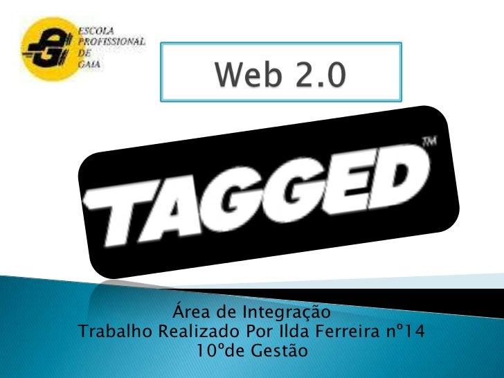 Área de IntegraçãoTrabalho Realizado Por Ilda Ferreira nº14             10ºde Gestão