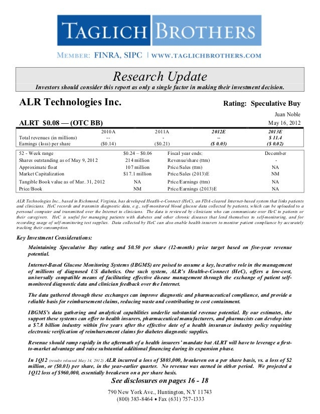 Research Update         Investors should consider this report as only a single factor in making their investment decision....