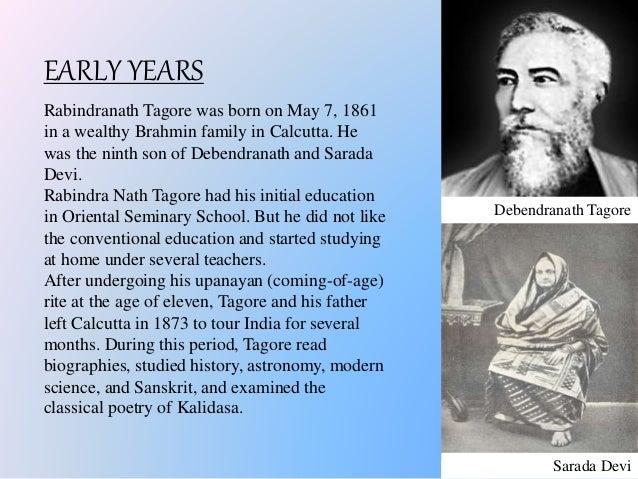 biography of ravindra nath tagore