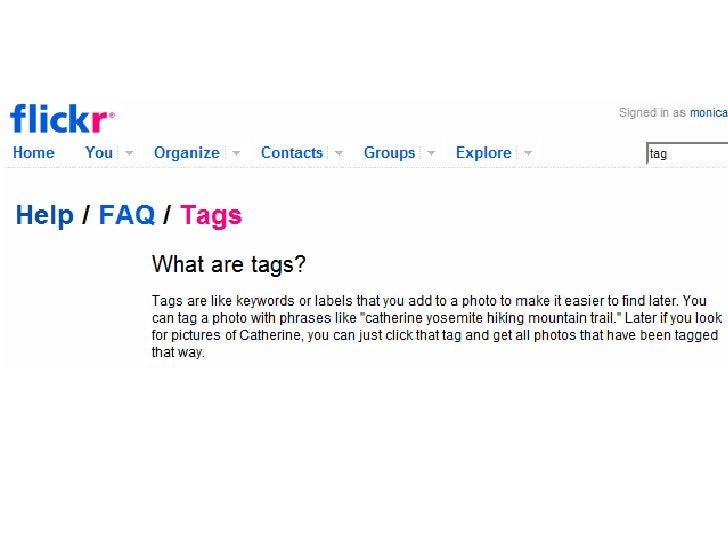Tags help you organize – and find