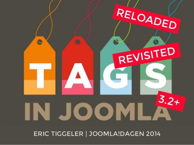 ERIC TIGGELER | JOOMLA!DAGEN 2014