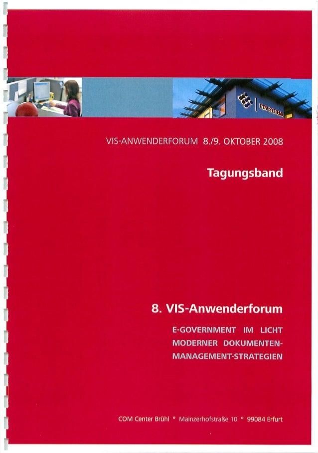 [DE] eGovernment im Licht moderner Dokumentenmanagement-Strategien | Keynote Dr. Ulrich Kampffmeyer | Tagungsband 8. PDV-A...