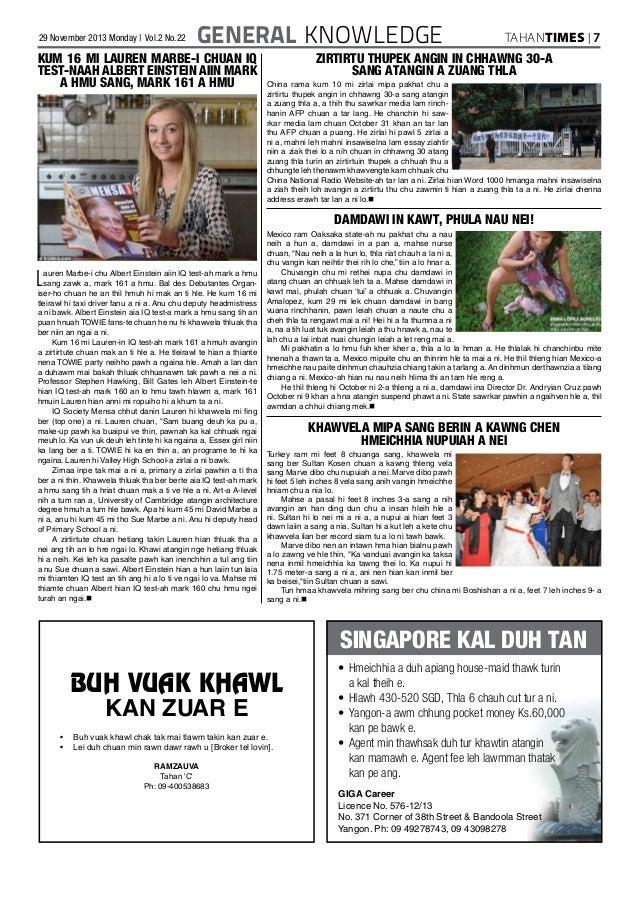 Tahan Times Journal- Vol  2- No  22, November 2012