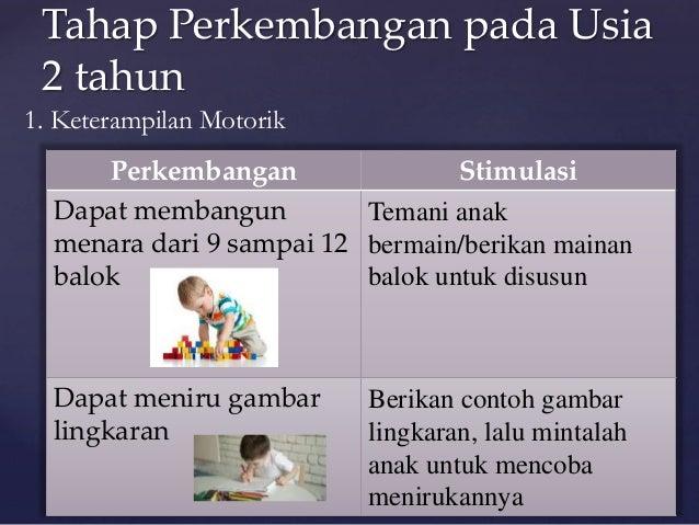 Tahap Perkembangan Dan Stimulasi Pada Anak Usia 1 2 Tahun