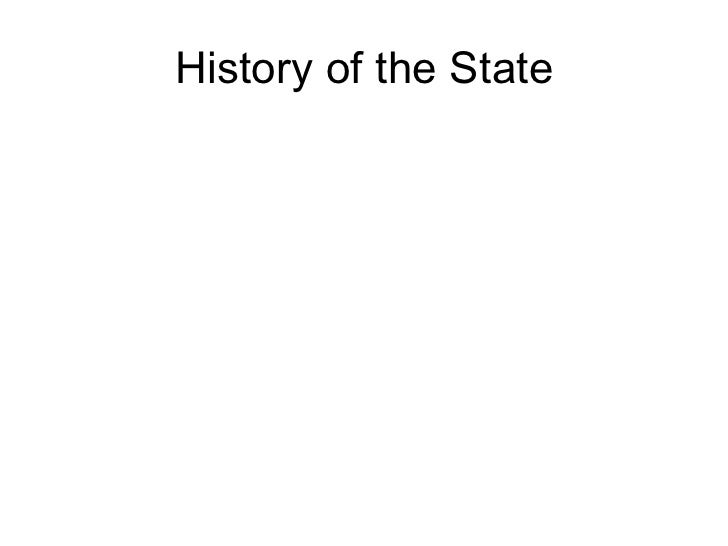 History of the State