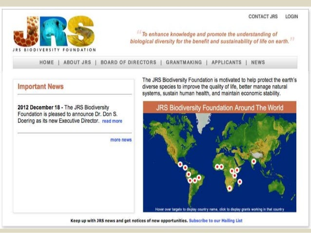 International Cooperative Biodiversity Groups