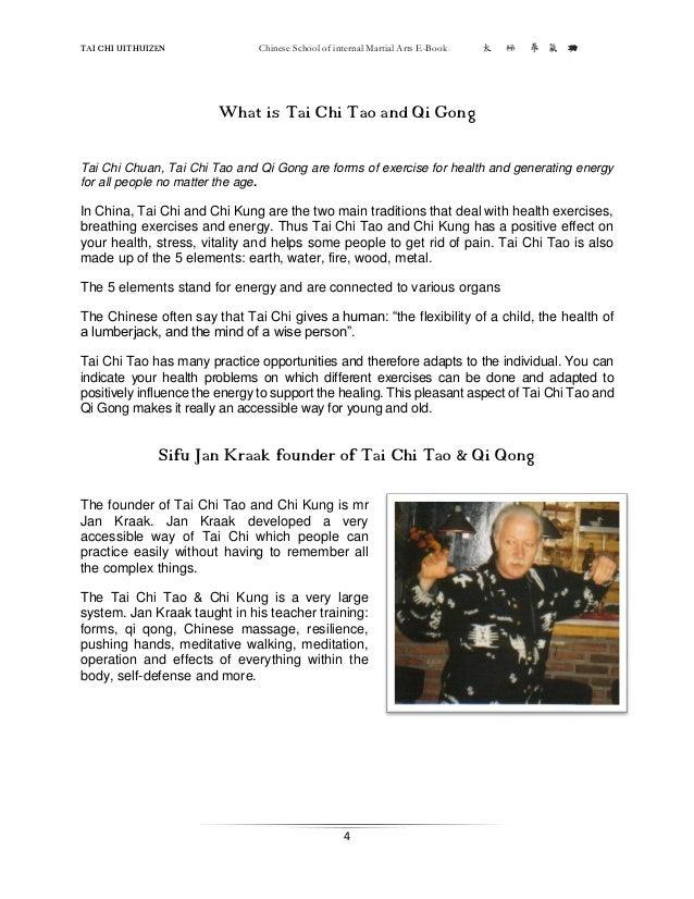 Tai Chi Chuan the Book of Essence